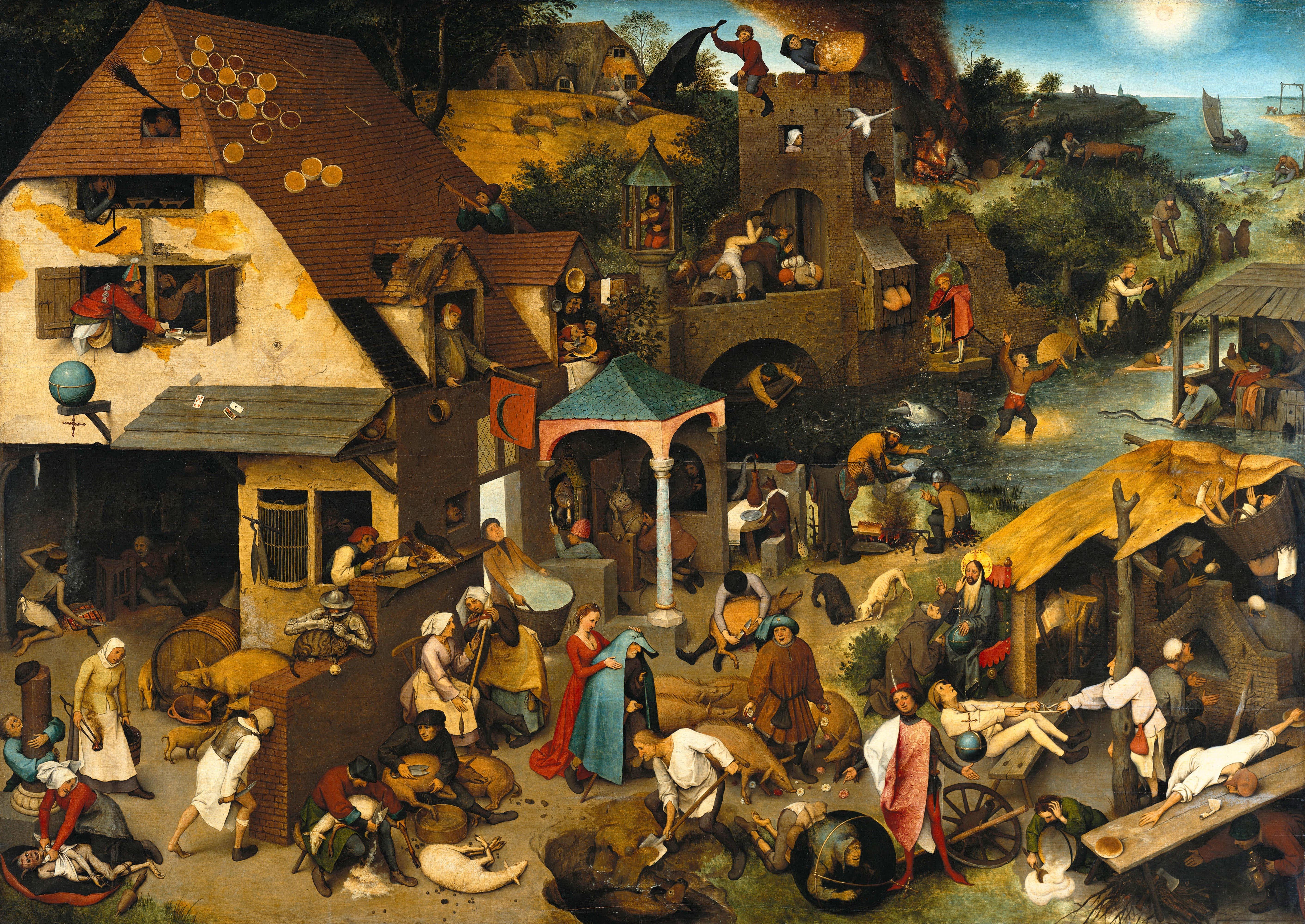 Pieter the elder » netherlandish-proverbs-1559